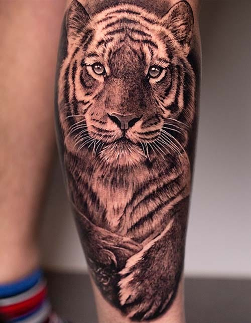 Learn how to do realistic tiger
